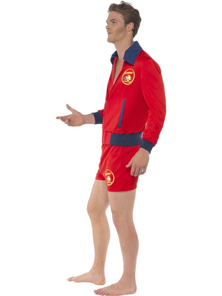 Baywatch Lifeguard Mens Costume