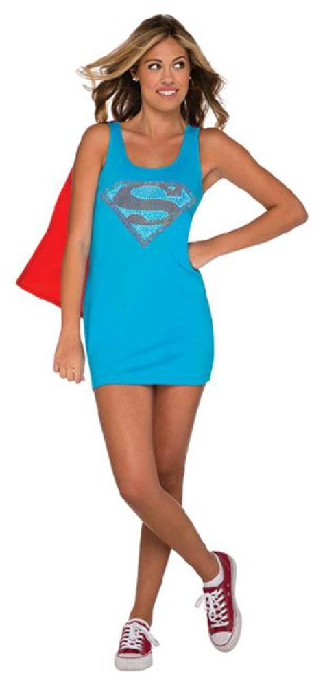 Super girl Teen Tank Dress Costume