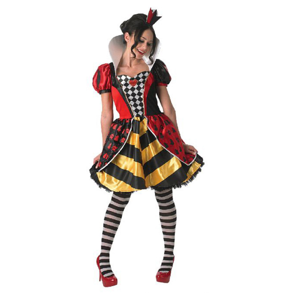Queen of Hearts Red Queen Womens Costume