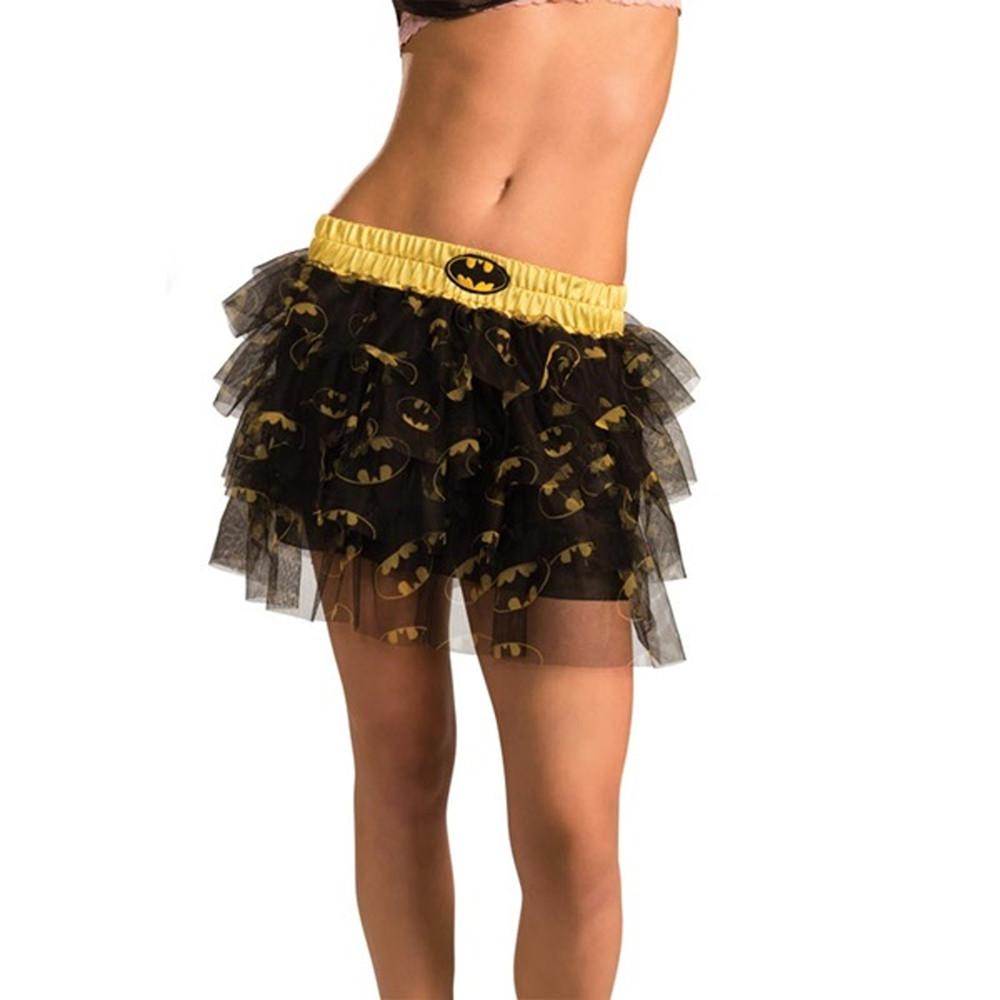 Batgirl Sequin Skirt Womens Costume