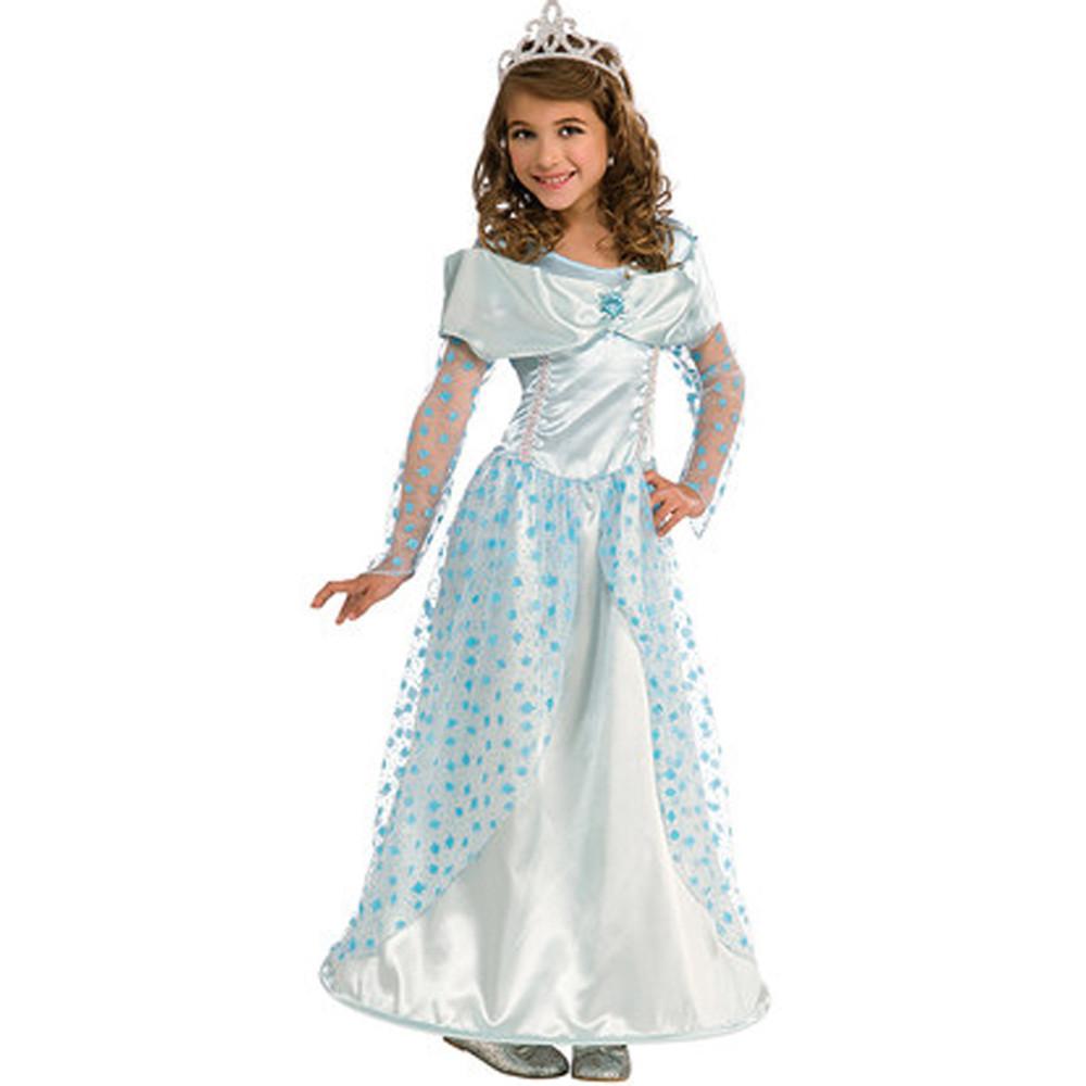 Blue Star Princess Girls Costume