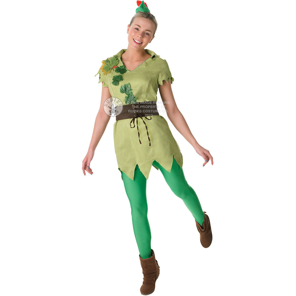 Peter Pan Womens Costume
