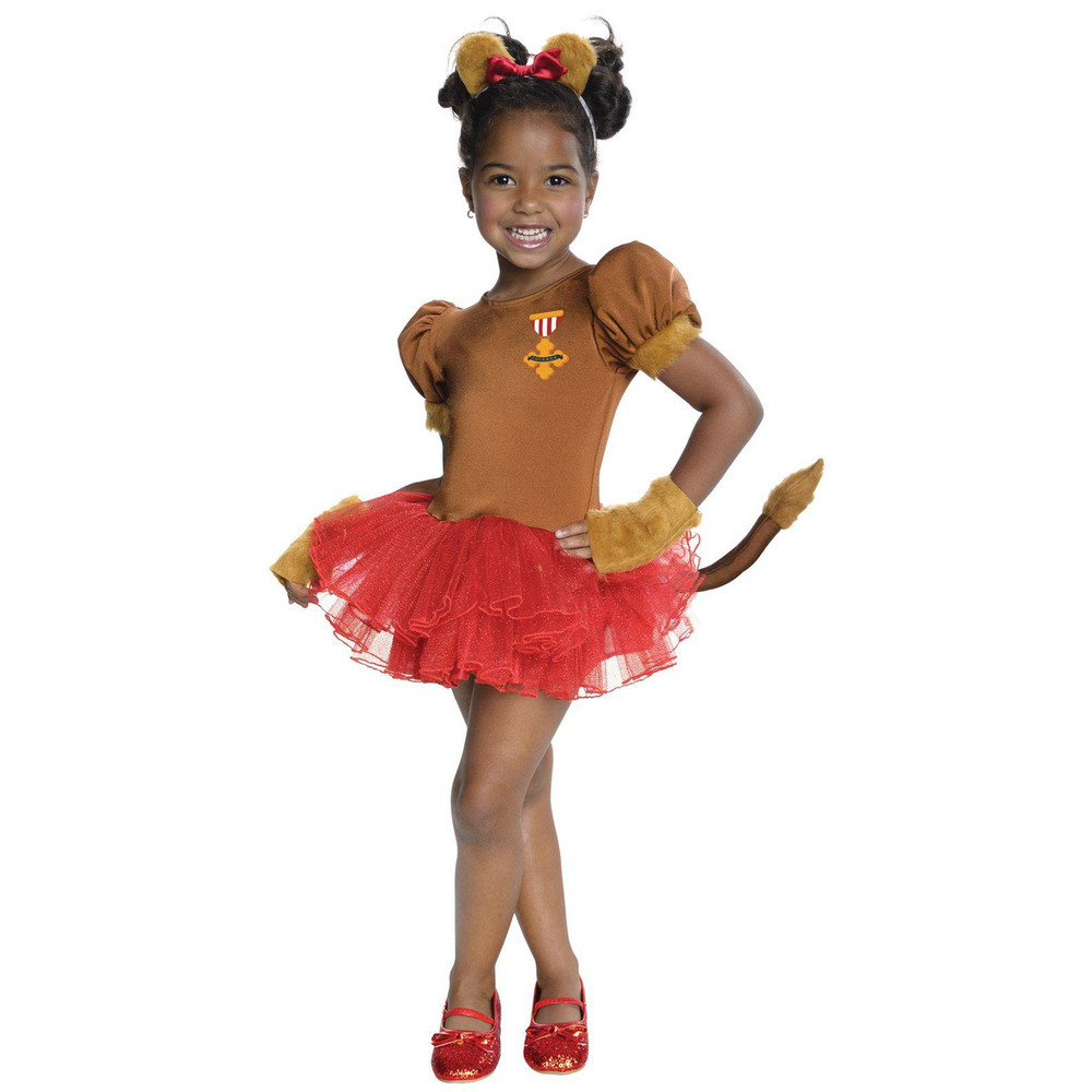 Wizard of Oz Lion Girls Tutu Costume