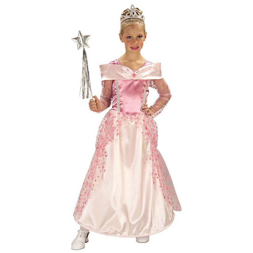 Pink Star Princess Girls Costume