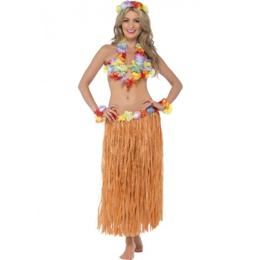 Hawaiian Hula Honey Costume Instant Kit