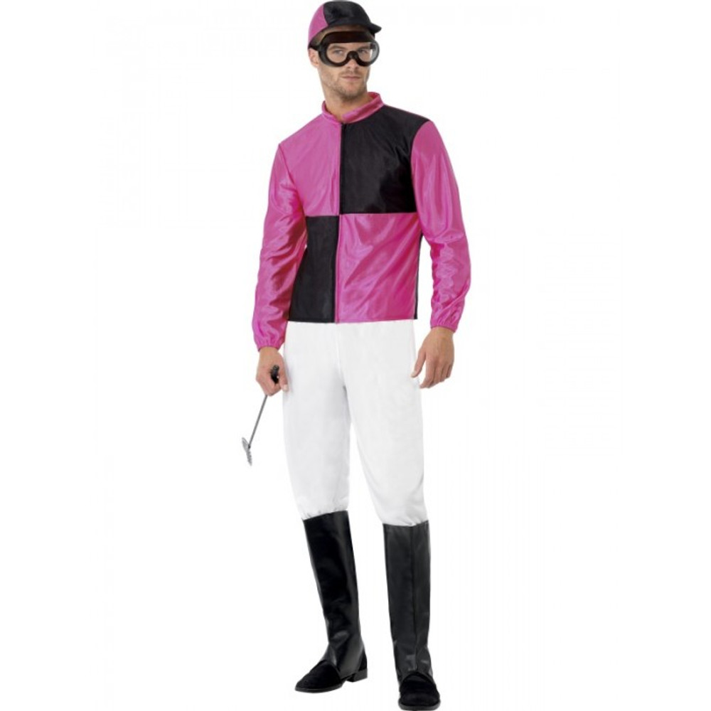 Jockey Horse Riding Male Costume