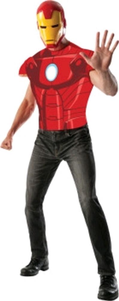 Ironman Shirt Mens Costume