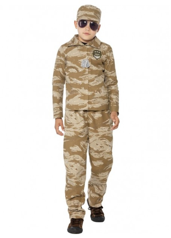 Army Desert Boys Costume