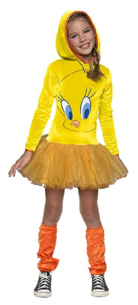 Looney Tunes - Tweety Bird Hooded Girls Costume