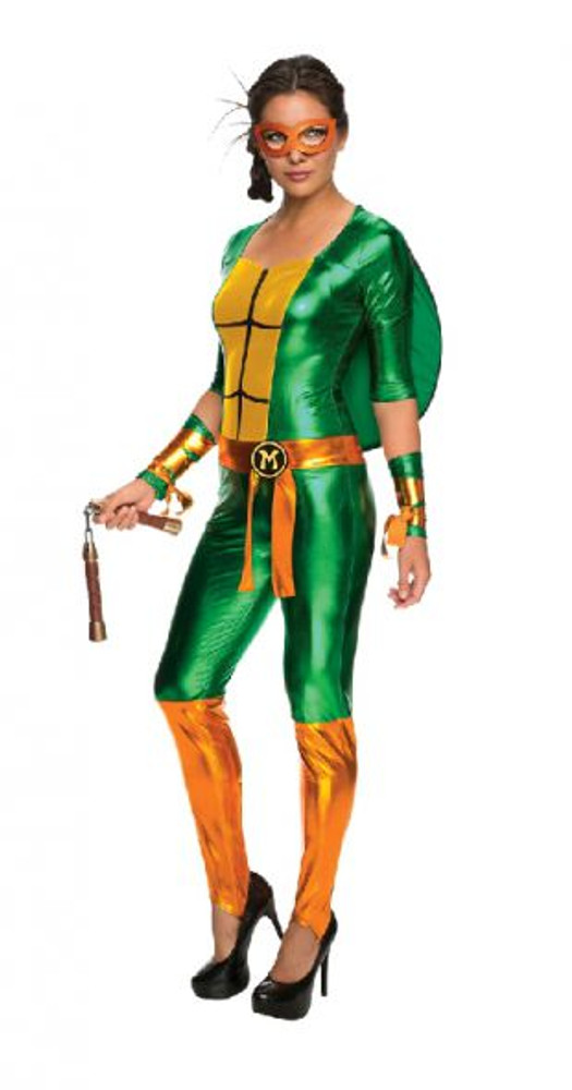 Teenage Mutant Ninja Turtles -  Michelangelo Jumposuit Womens Costume