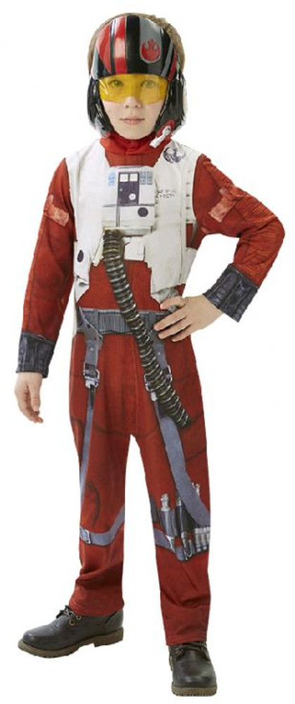 Star Wars - The Force Awakens Poe X-Wing Fighter Classic Boys Costume
