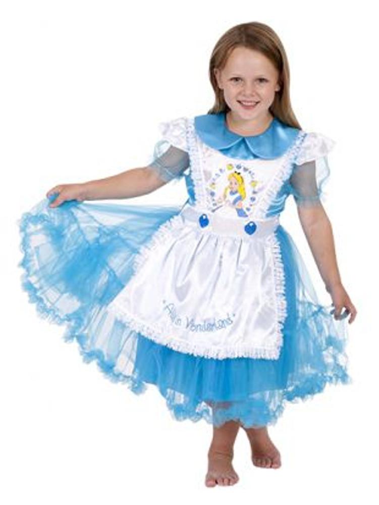 Alice In Wonderland Daisy Chain Girls Costume