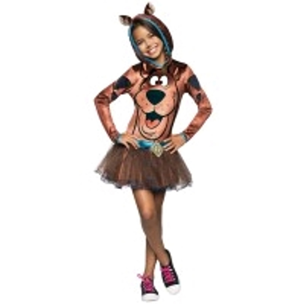 Scooby Doo Girls Hooded Costume