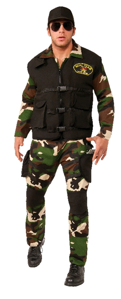 Army Seal Team 4 Mens Costume