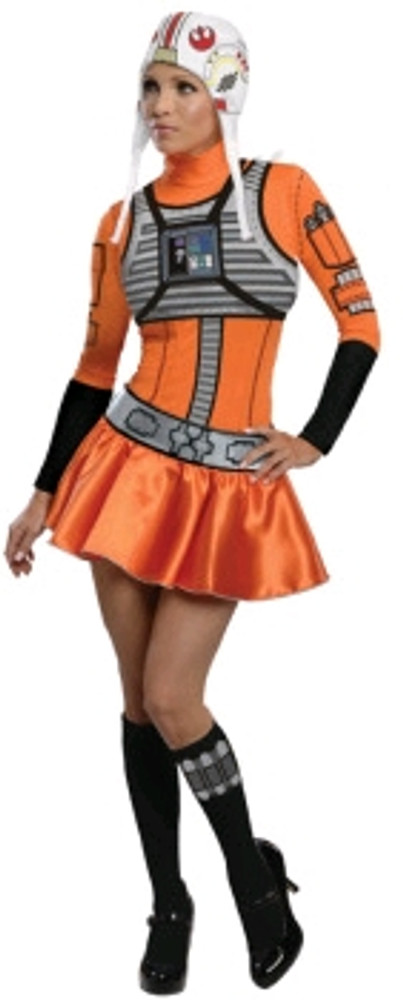 Star Wars X-wing Fighter Pilot Womens Costume