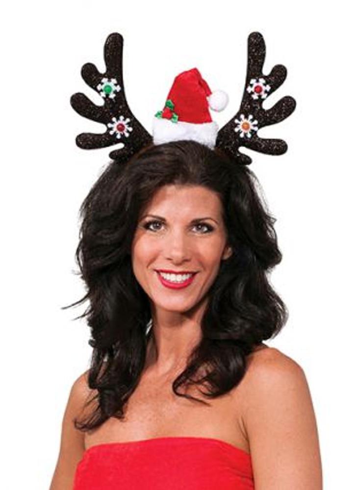 Christmas Snowflake Reindeer Antlers