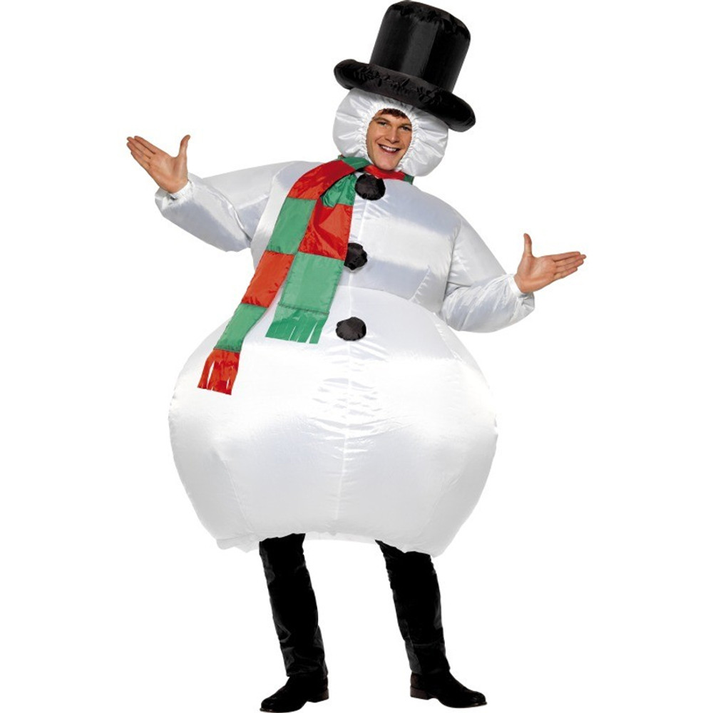 Snowman Inflatable Adult Costume