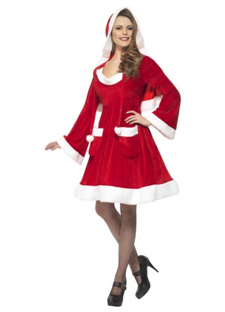 Santa in the City Women's Costume