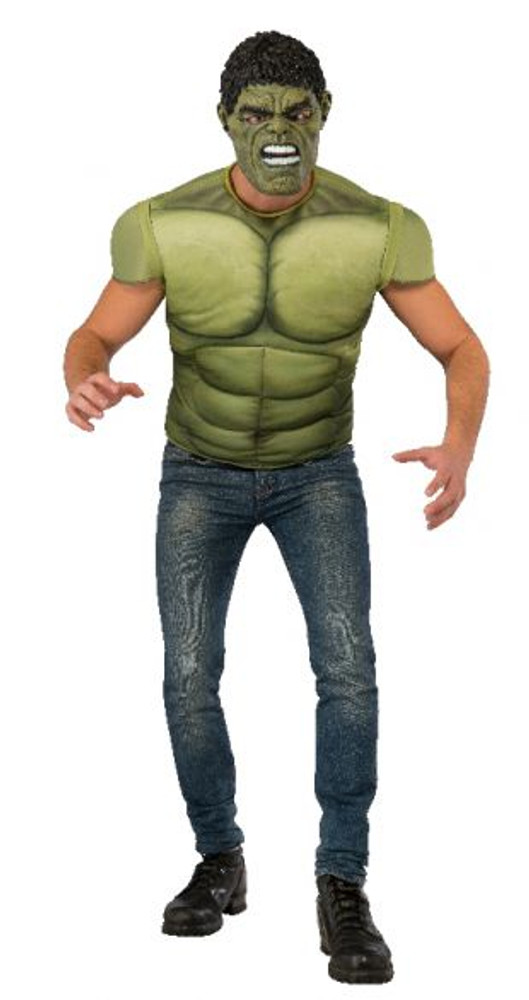 Hulk Muscle Chest Costume Top