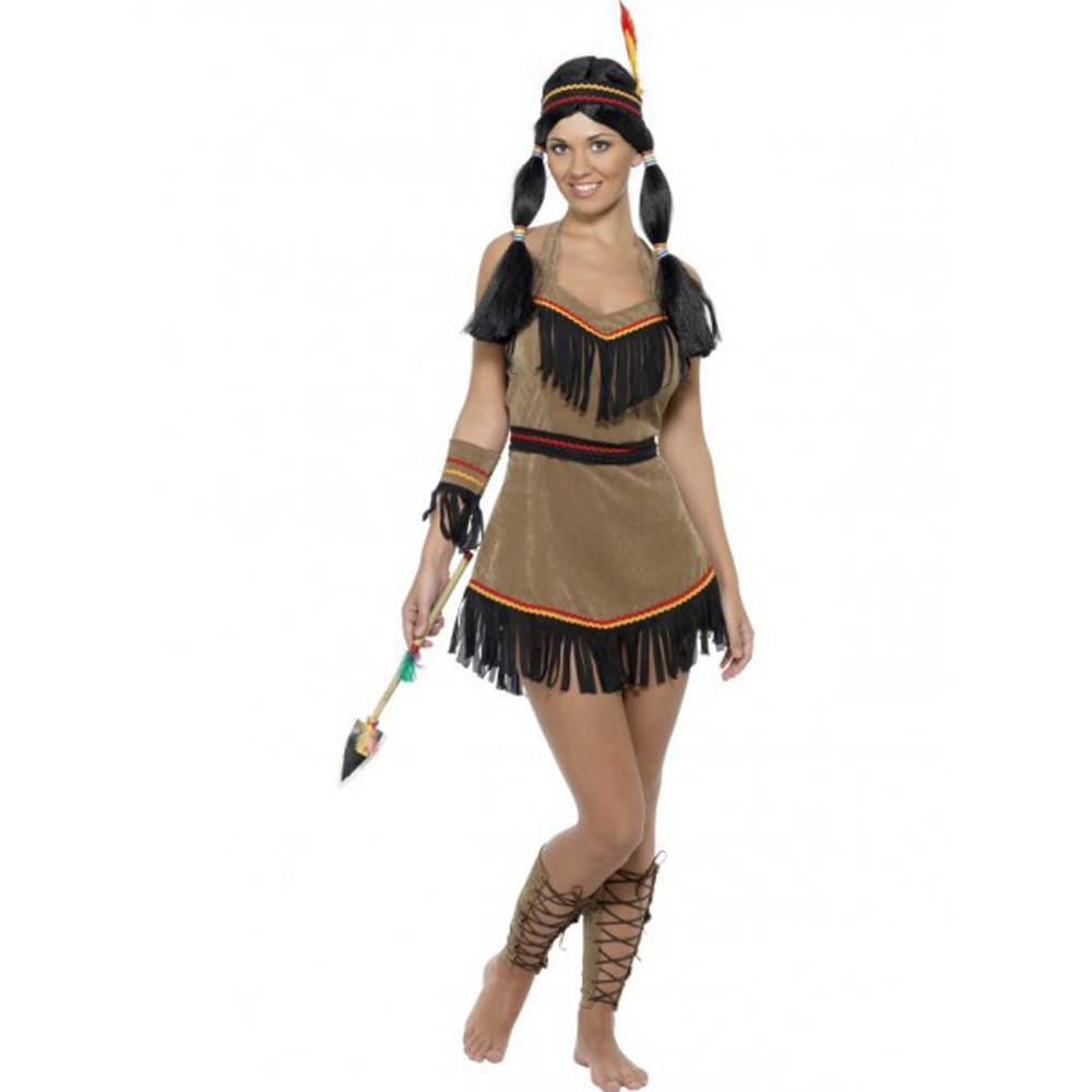 Indian Woman Native American Costume