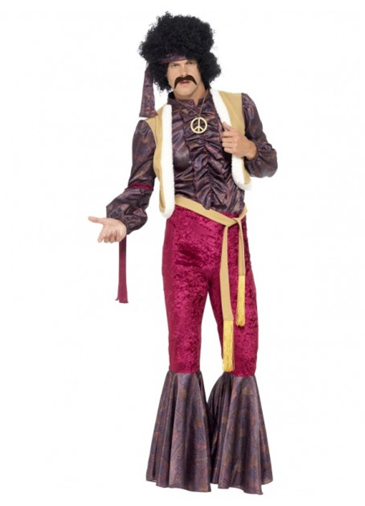 1970s Psychedelic Rocker Mens Costume
