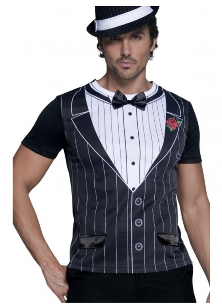 1920s Mens Gangster T Shirt
