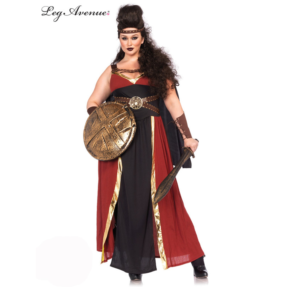 Regal Warrior Greek Plus Size Womens Costume