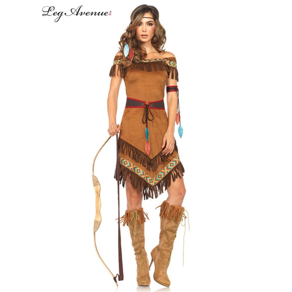 Native American Indian Princess Womens Costume