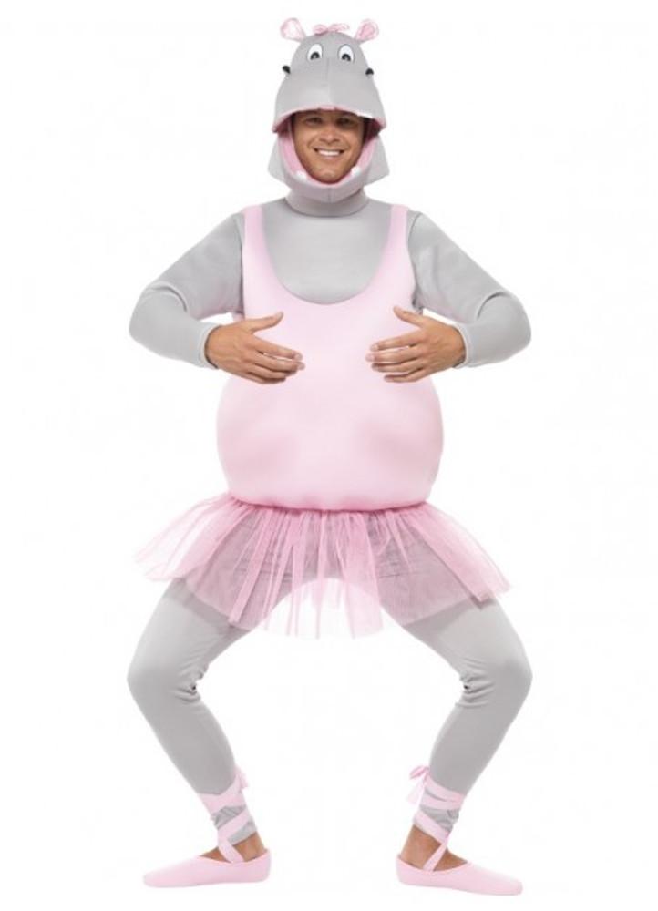 Hippo Ballerina Animal Costume