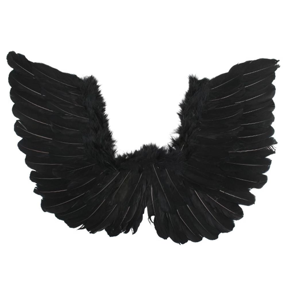 Angel & Fairy Wings Small Black