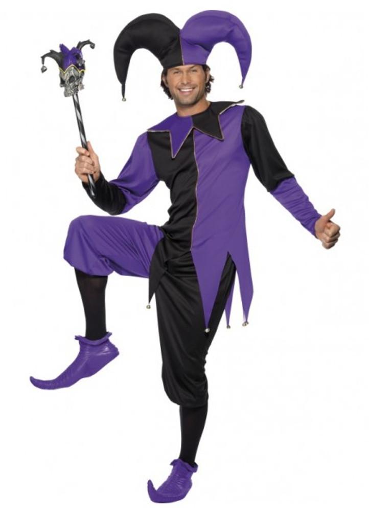 Medieval Jester Mens Costume