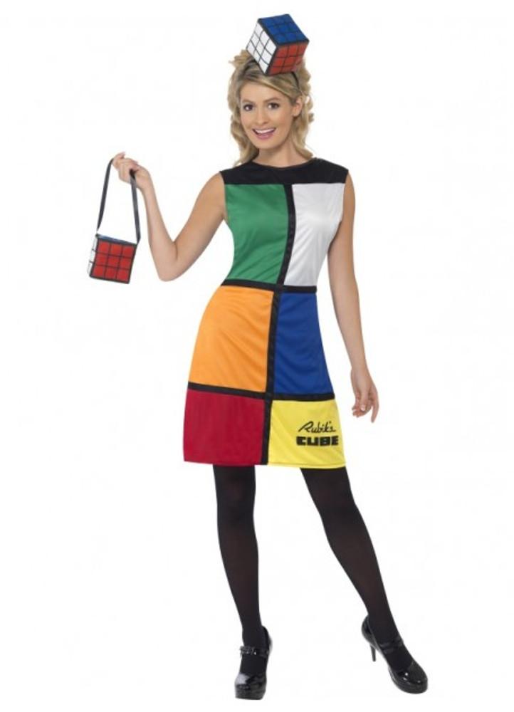 Rubik's Cube Womens Costume