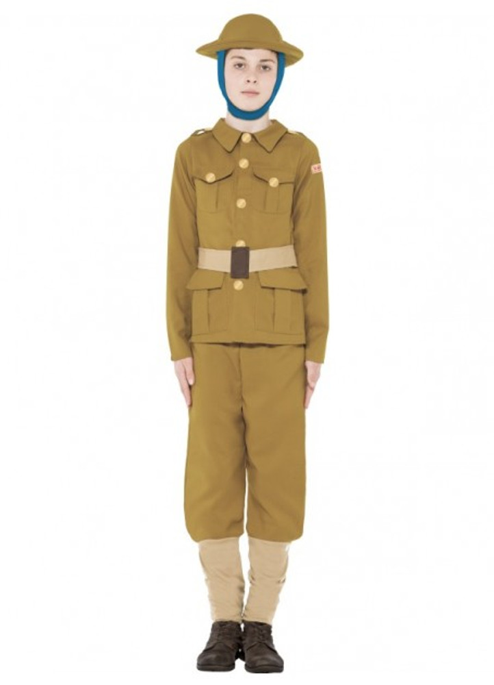 Horrible Histories WWI Boy Costume
