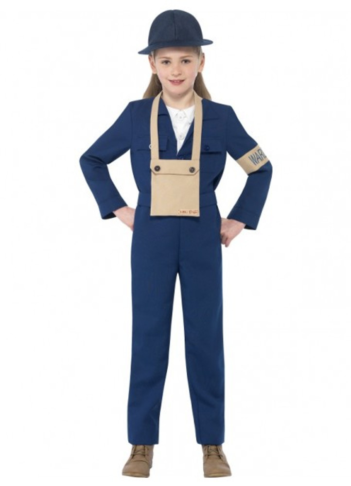 Horrible Histories Air Warden Kids Costume