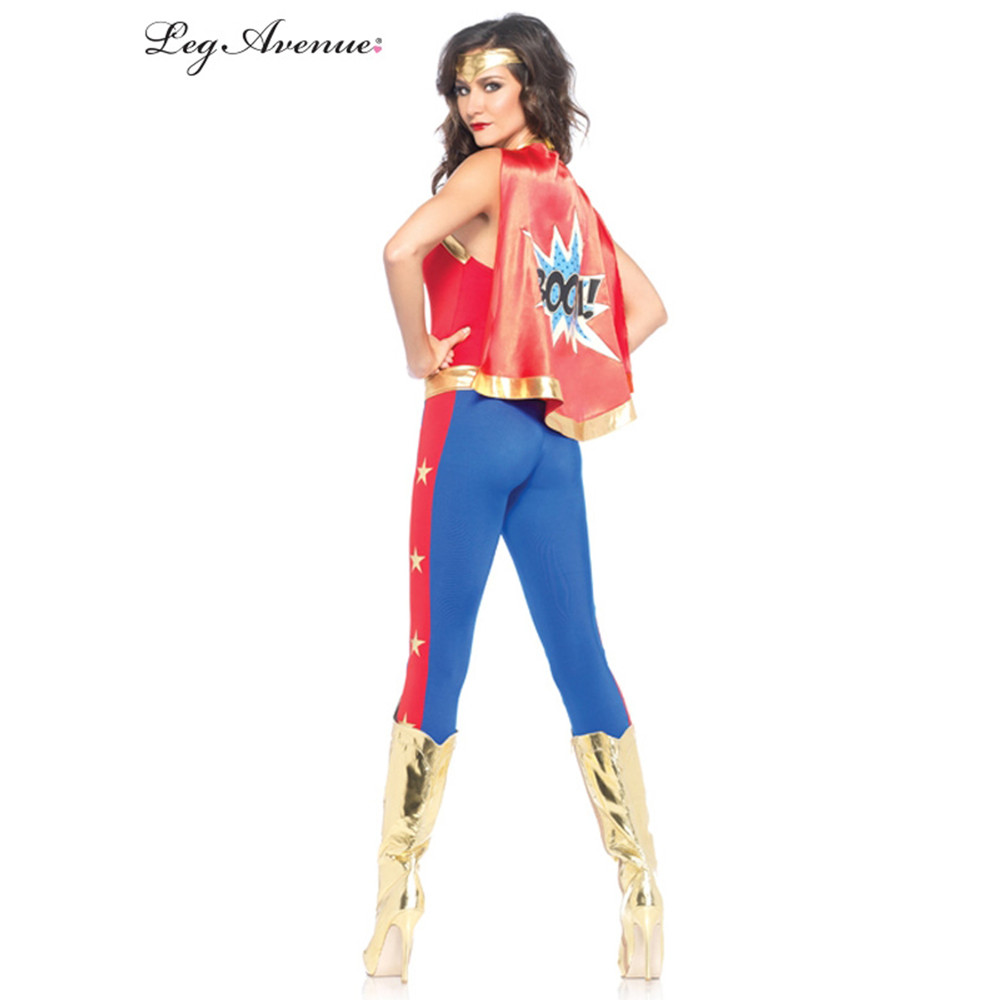 Comic Book Superhero Womens Costume