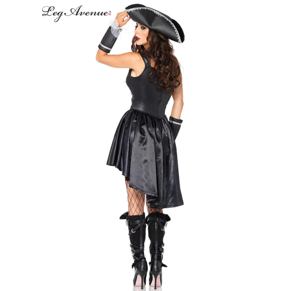 Pirate Captain Blackheart Womens Costume