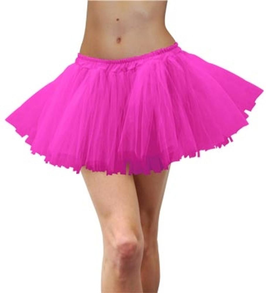 Tutu Adult 80s - Fluoro Pink