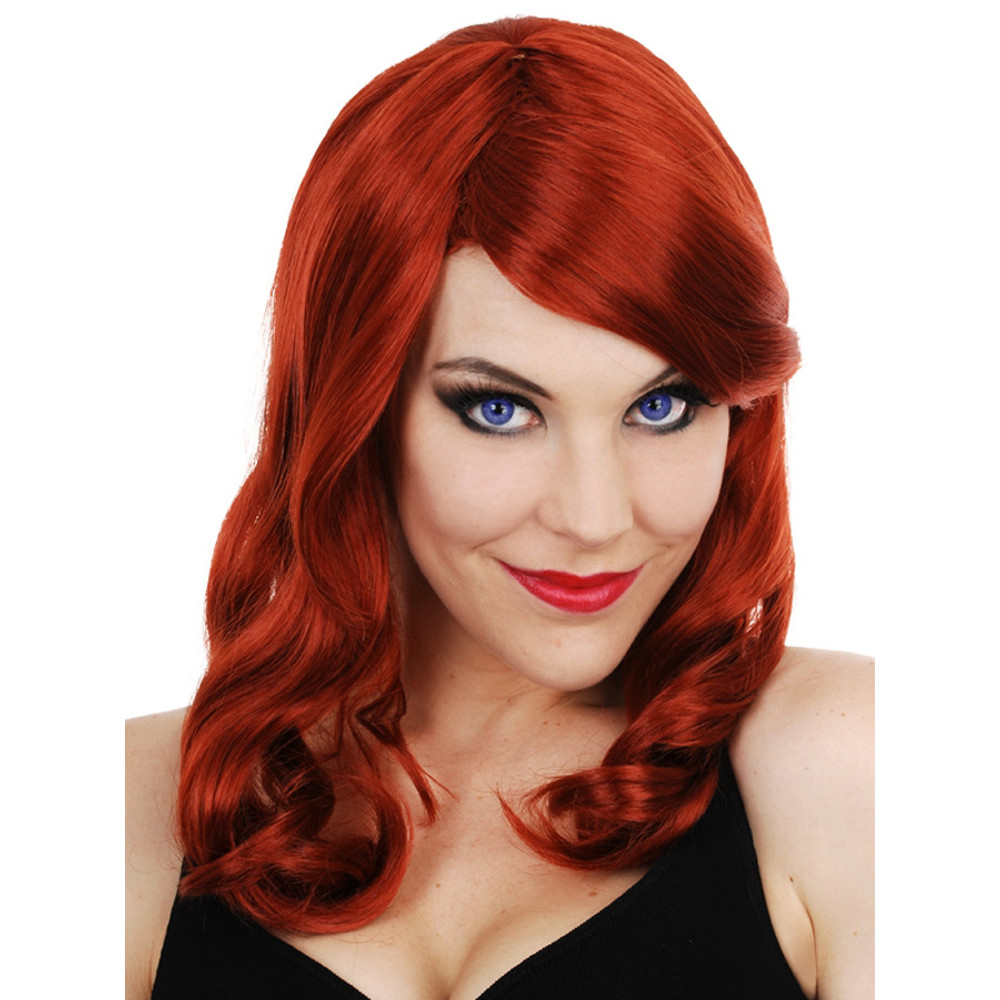 Scarlett Hollywood Star Red Wig