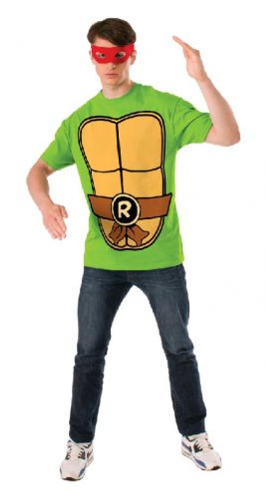 Teenage Mutant Ninja Turtles - Raphael Teashirt Mens Costume