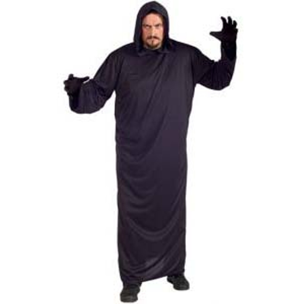 Hooded Robe - Mens Costumes Plus Size