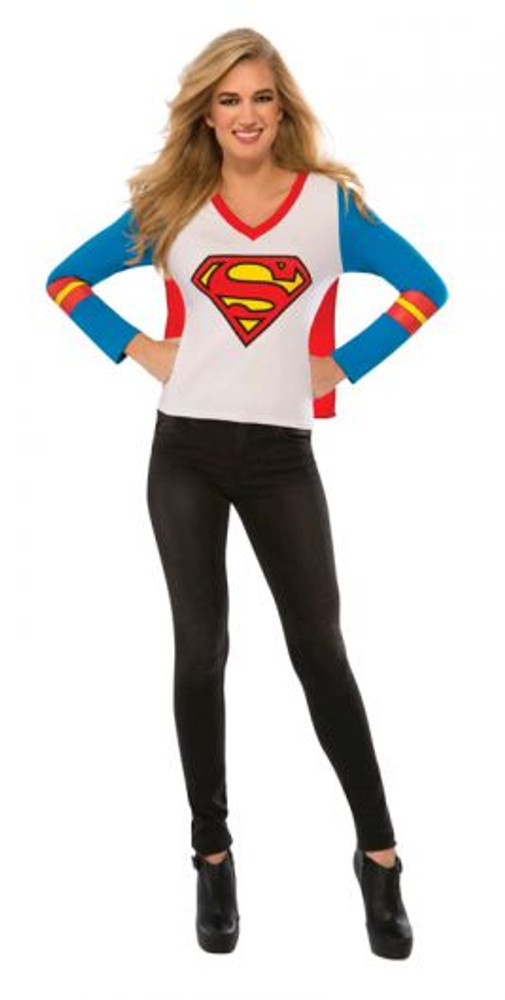 Supergirl Sporty Womens T-shirt