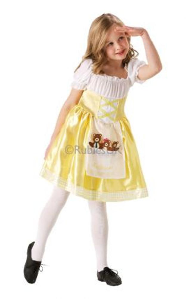 Goldilocks Girls Costume