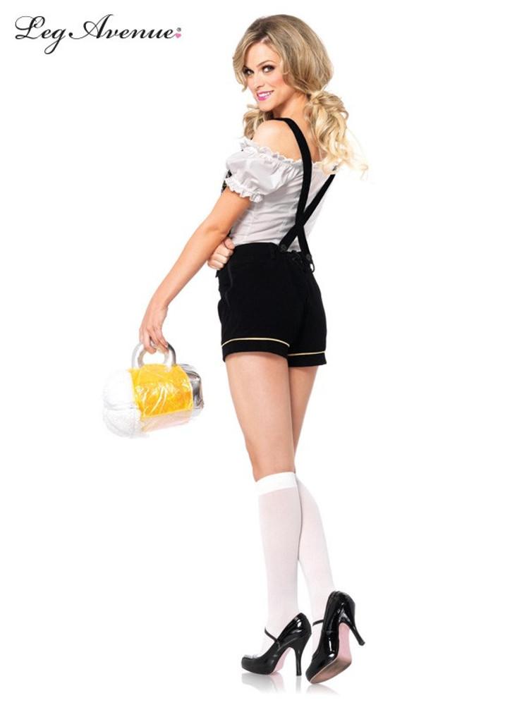 Oktoberfest Edelweiss Lederhosen Womens Costume