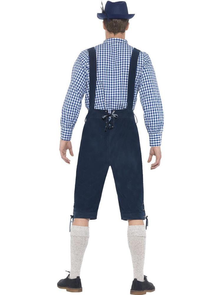 Oktoberfest Traditional Deluxe Rutger Bavarian Costume