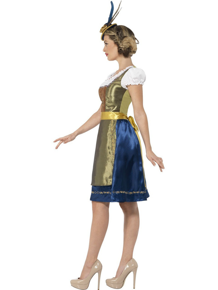 Traditional Deluxe Heidi Bavarian Costume Womens Costume