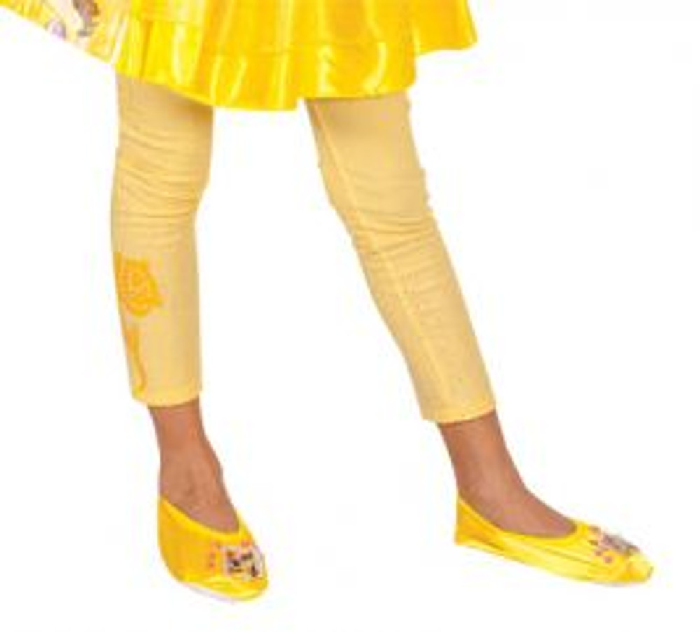 Beauty and the Beast - Belle Girls Footless Tights