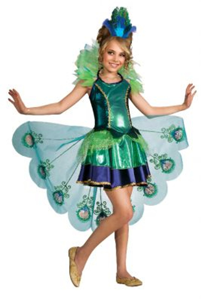 Peacock Girls Costume