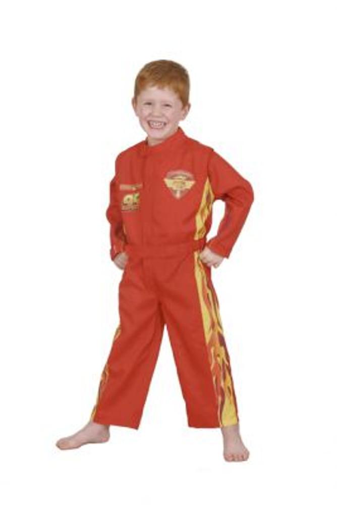 Lightning McQueen Cars Racing Suit Boys Costume