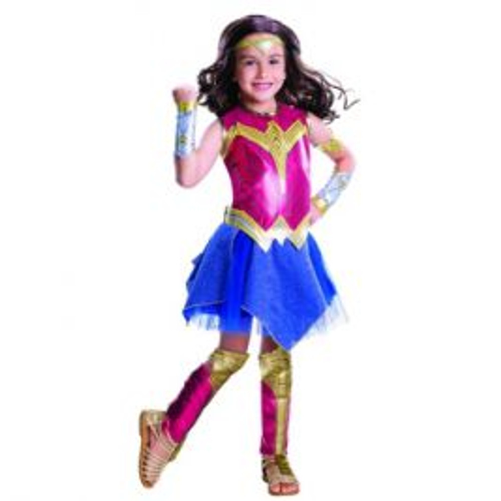 Wonder Woman Deluxe Girls Costume