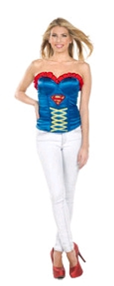 Supergirl Corset Women's Costume